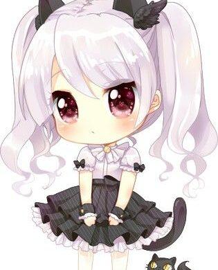 hình ảnh anime chibi dễ thương nữ