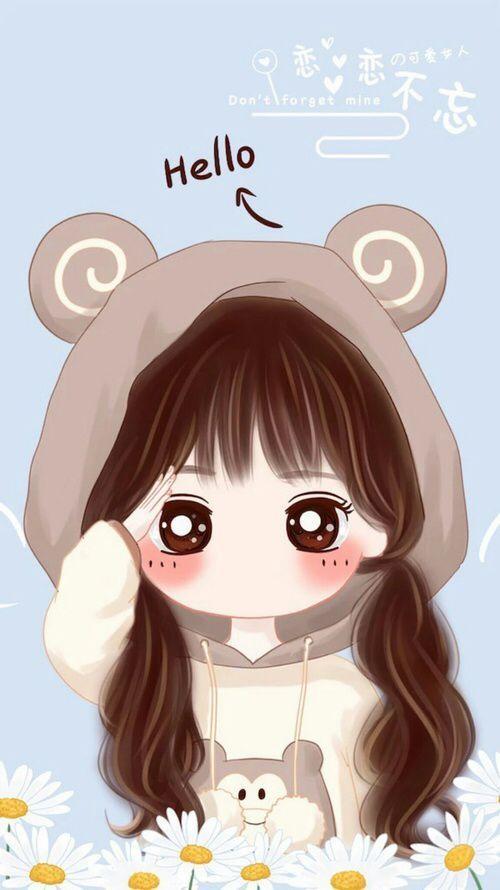 ảnh avatar chibi dễ thương