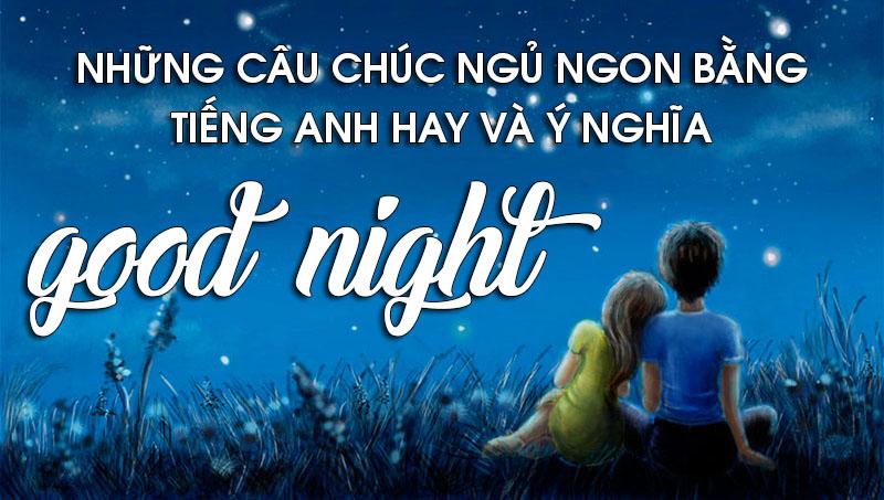 chúc ngủ ngon anh yêu