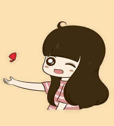 ảnh avatar facebook dễ thương