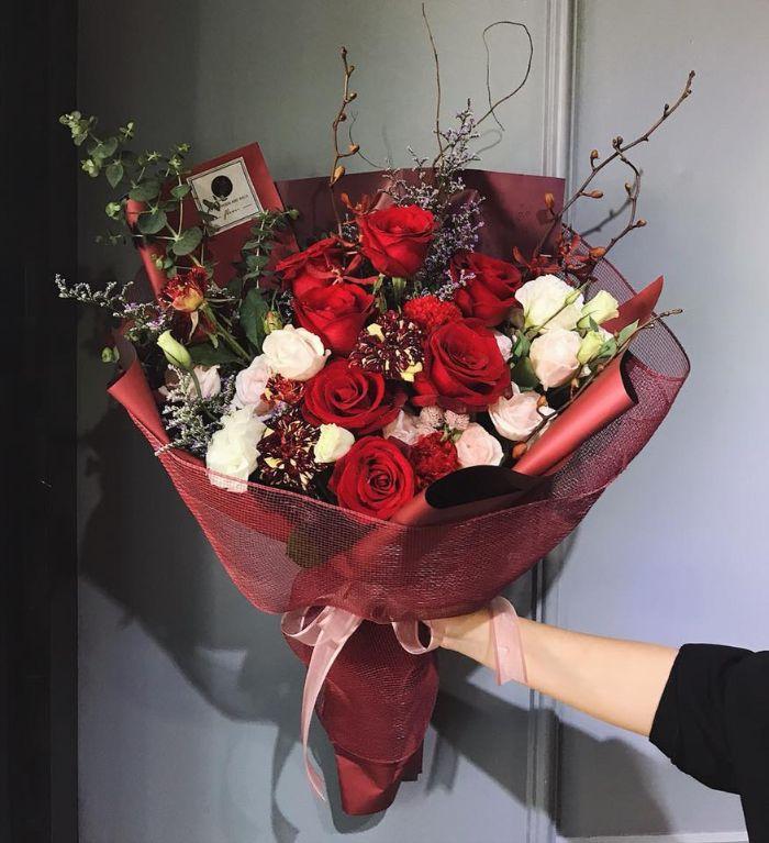 ảnh hoa hồng tím đẹp