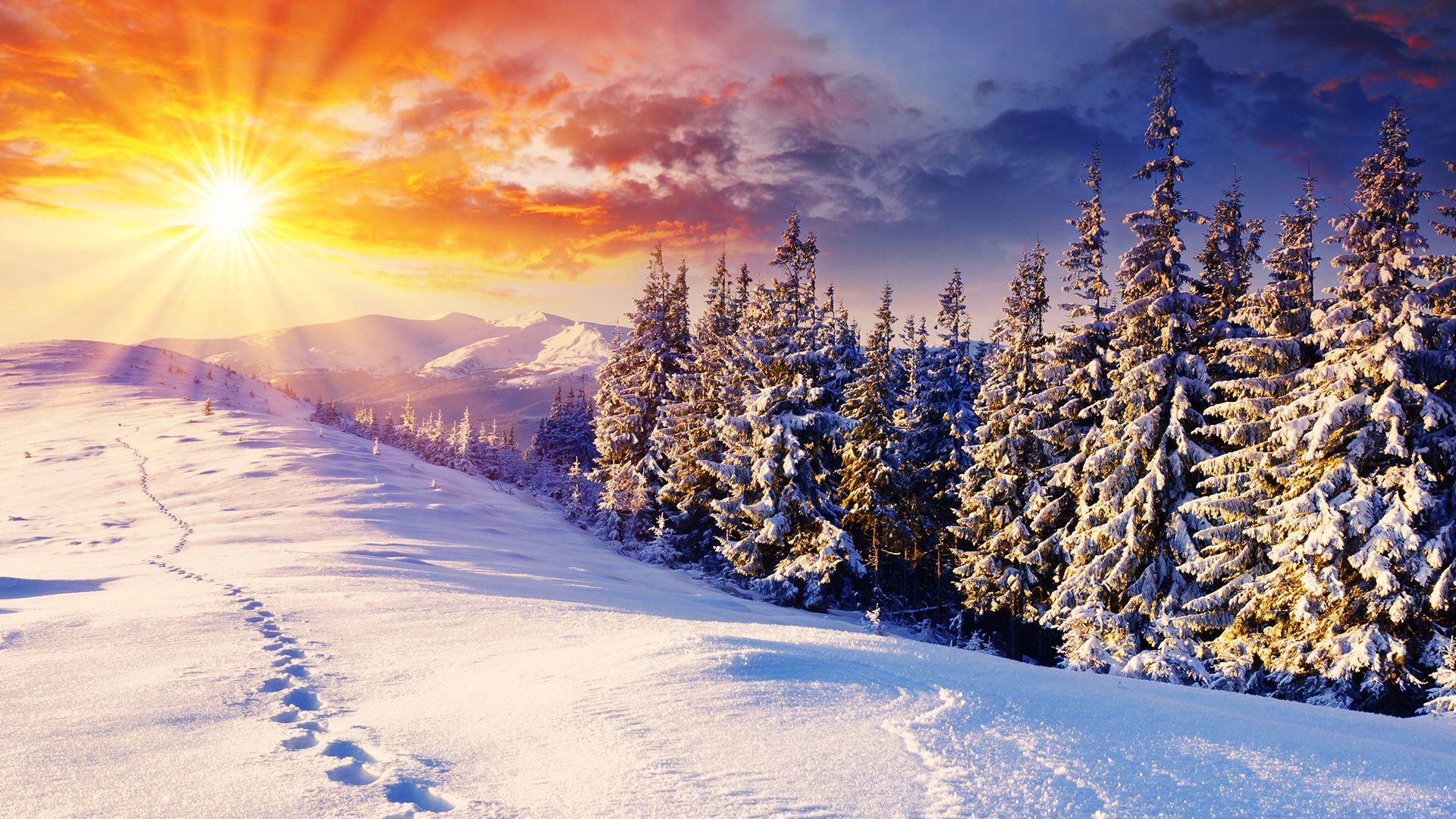 ảnh bìa mùa đông cho facebook