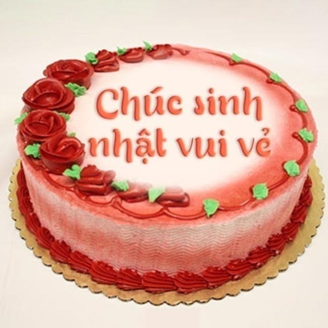 bánh sinh nhật đẹp sang trọng