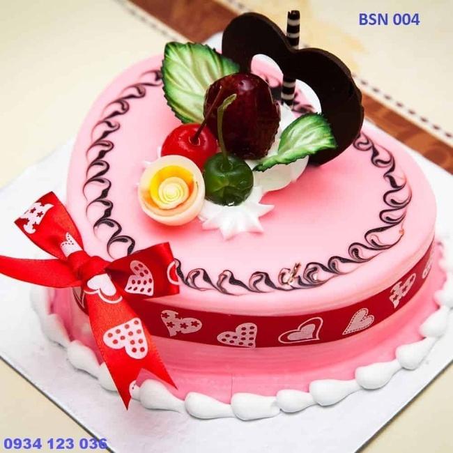 bánh sinh nhật hoa quả đẹp