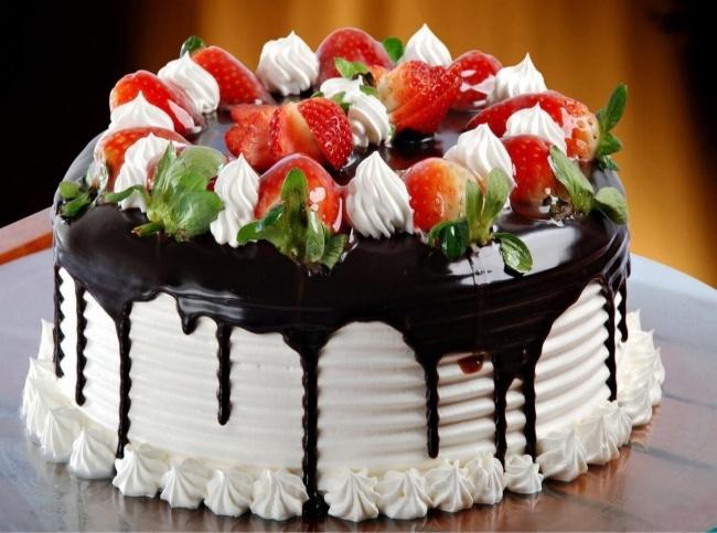 bánh sinh nhật đẹp làm