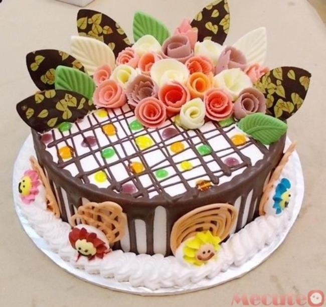 hình bánh sinh nhật đẹp độc