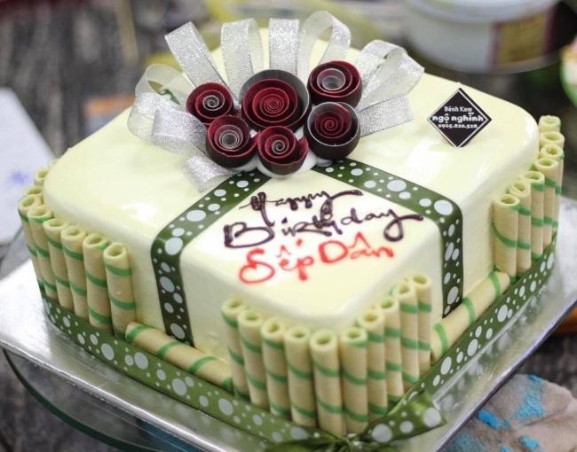 bánh sinh nhật đẹp cho phái nam