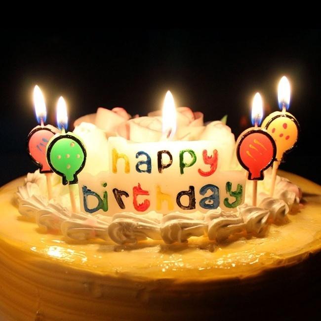 bánh sinh nhật hình số 6 đẹp