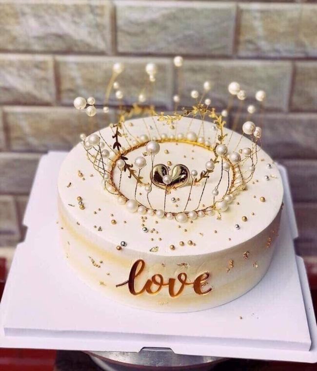 hình ảnh bánh sinh nhật 2 tầng đẹp
