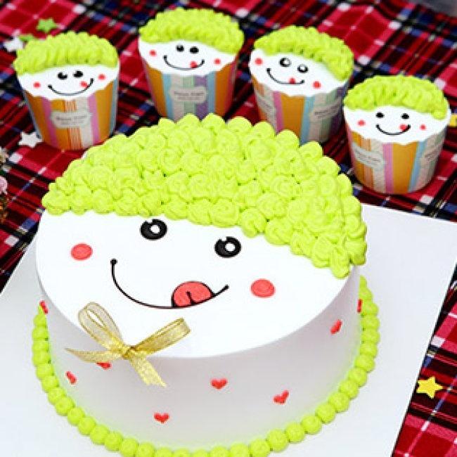 bánh sinh nhật đẹp hinh con heo