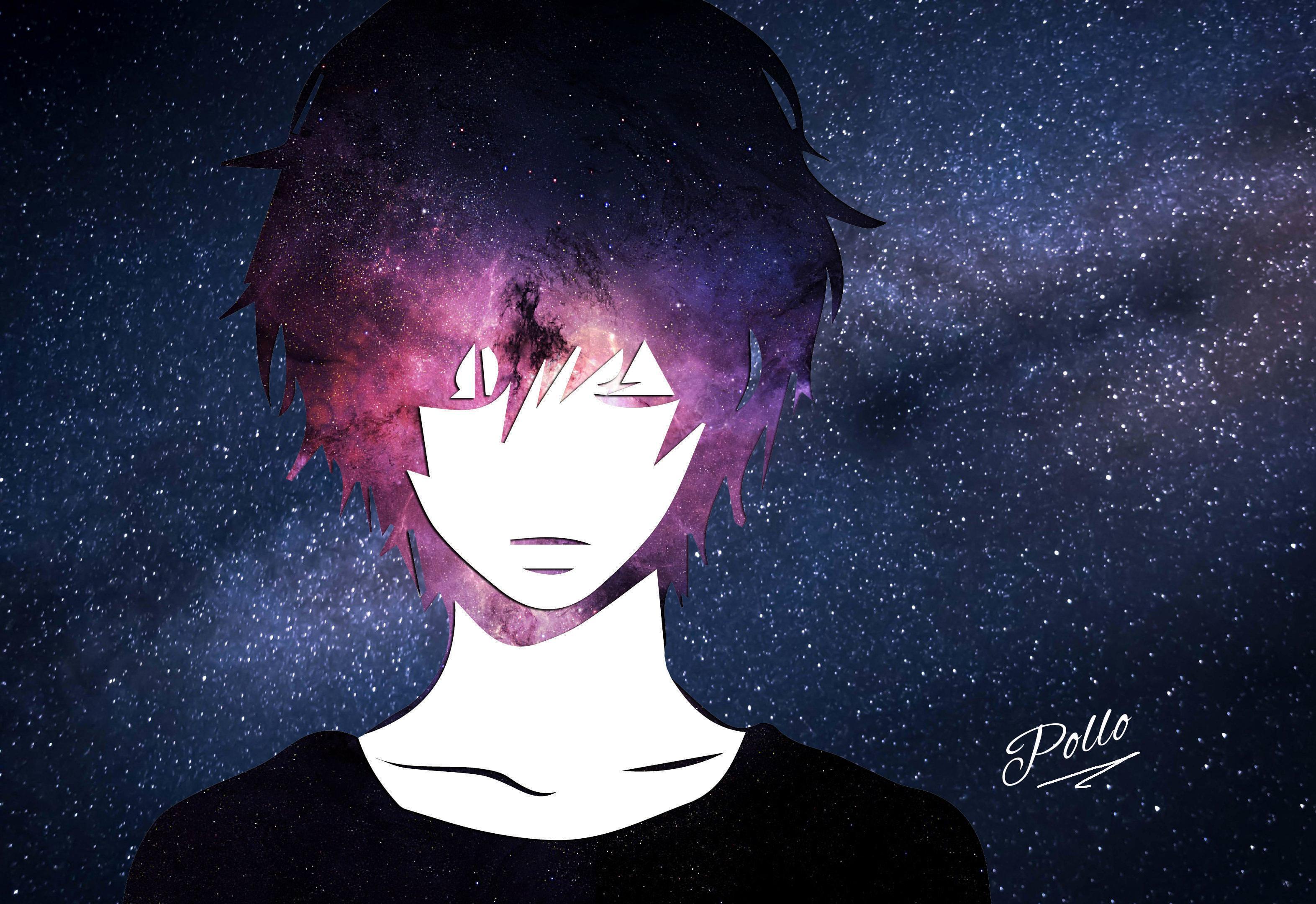 anime buồn đen trắng
