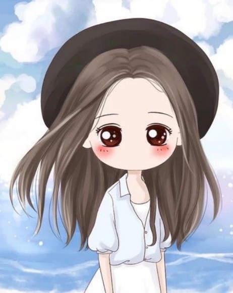 ảnh avatar cô gái buồn