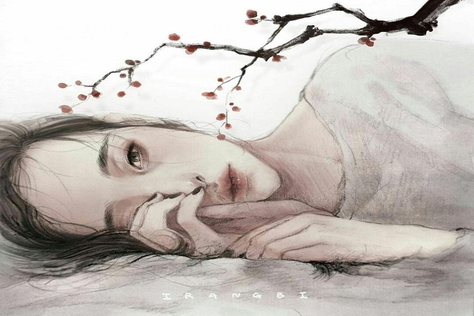 con gái buồn