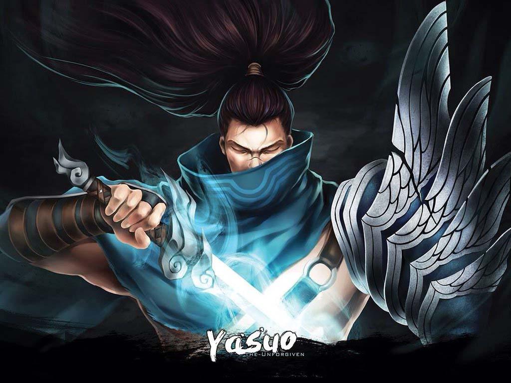 hình ảnh yasuo quỷ kiếm