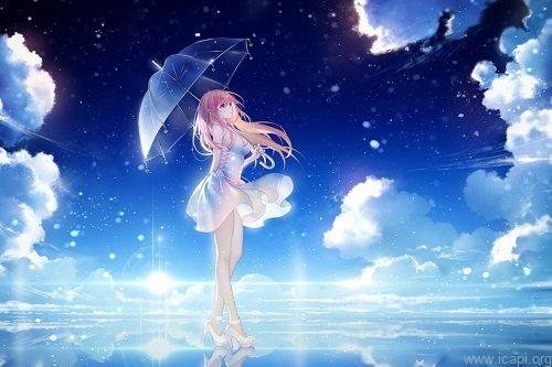 hình nền mưa anime