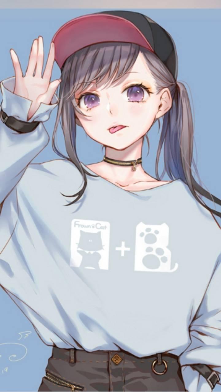 anime nữ chính tóc xanh