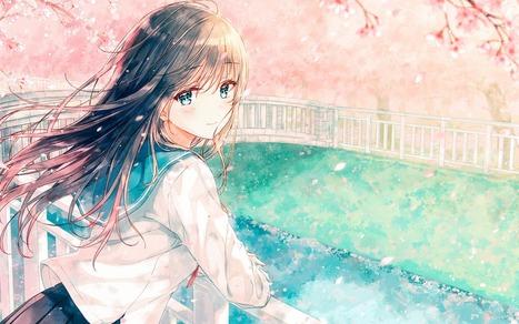 avatar anime nữ đẹp