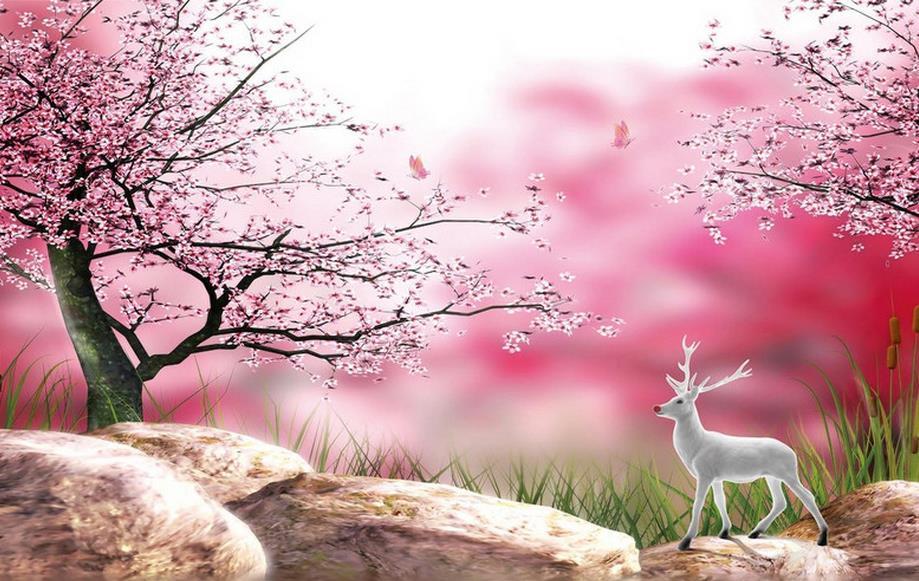 ảnh anime hoa anh đào đẹp