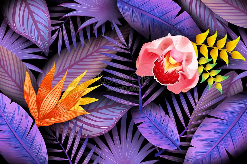hoa iris màu tím