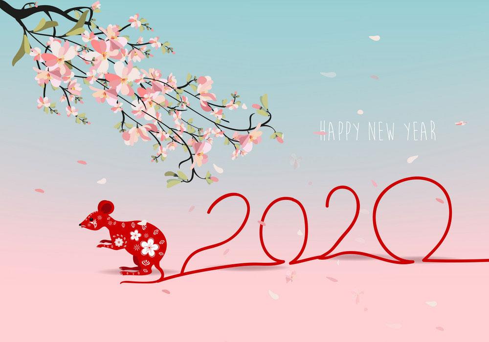 thiệp mừng năm mới kỷ hợi