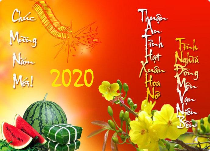thiệp chúc mừng năm mới bằng tiếng nhật