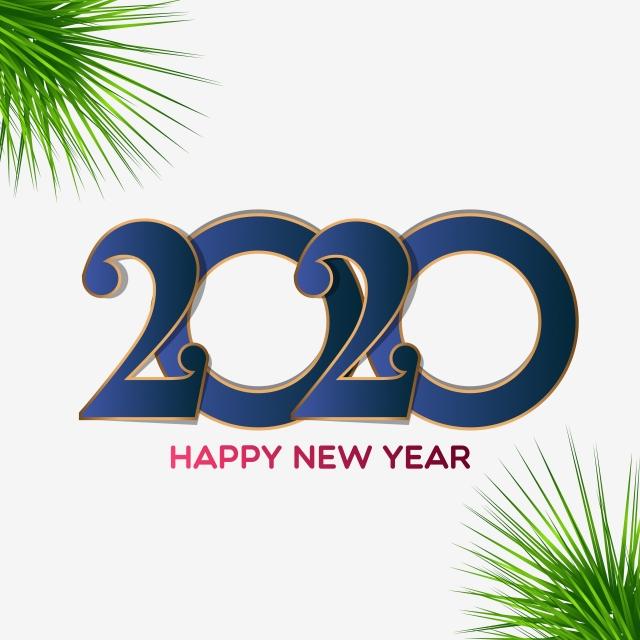 thiệp mừng năm mới 2020