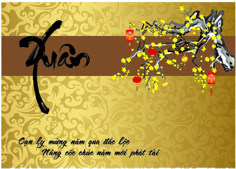 thiệp chúc mừng năm mới cong giao
