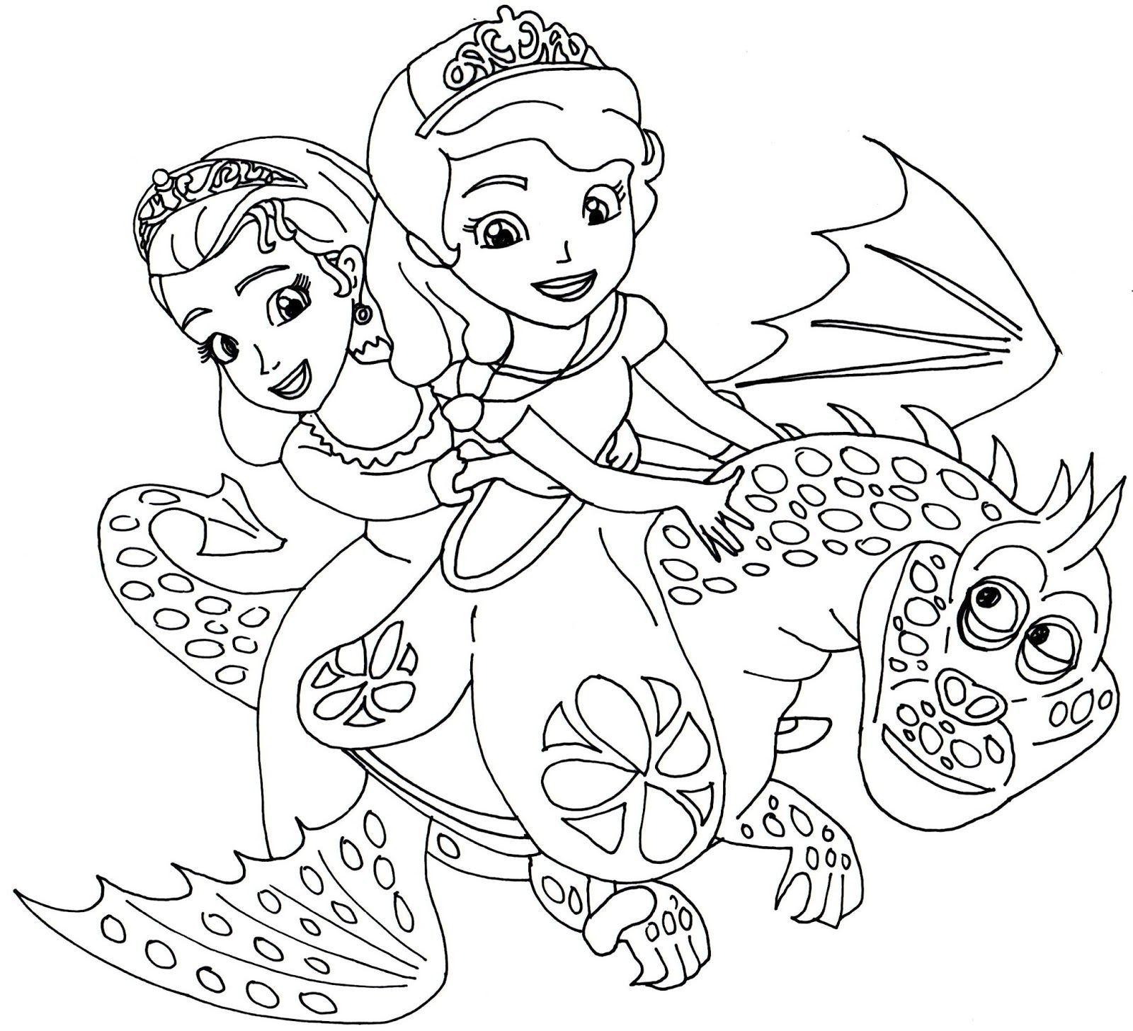 hình vẽ tô màu công chúa