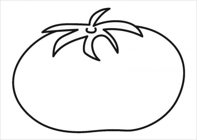 tranh tô màu quả xoài