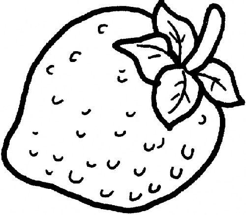 bé tập tô màu trái cây