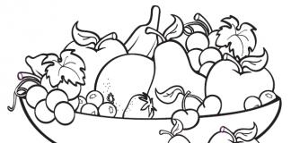 game tô màu trái cây