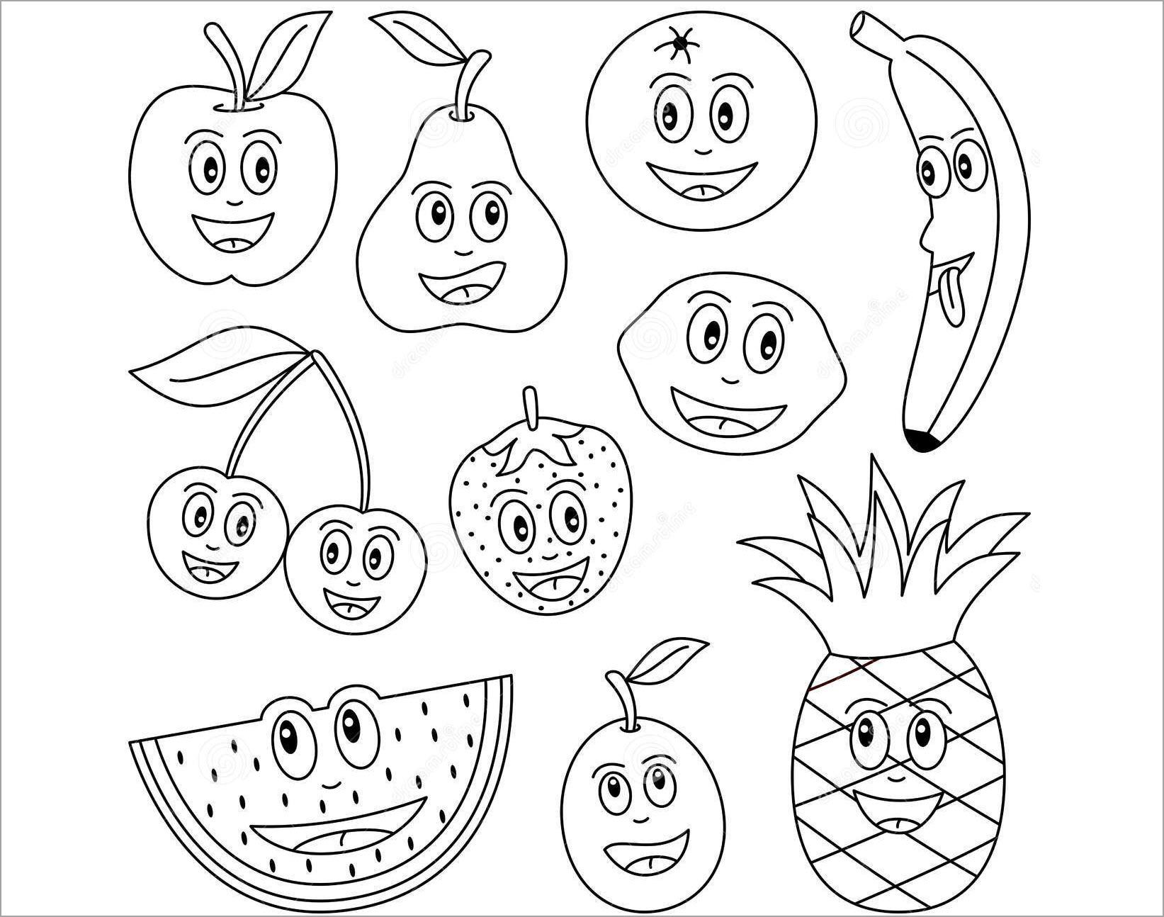 hình hoa quả