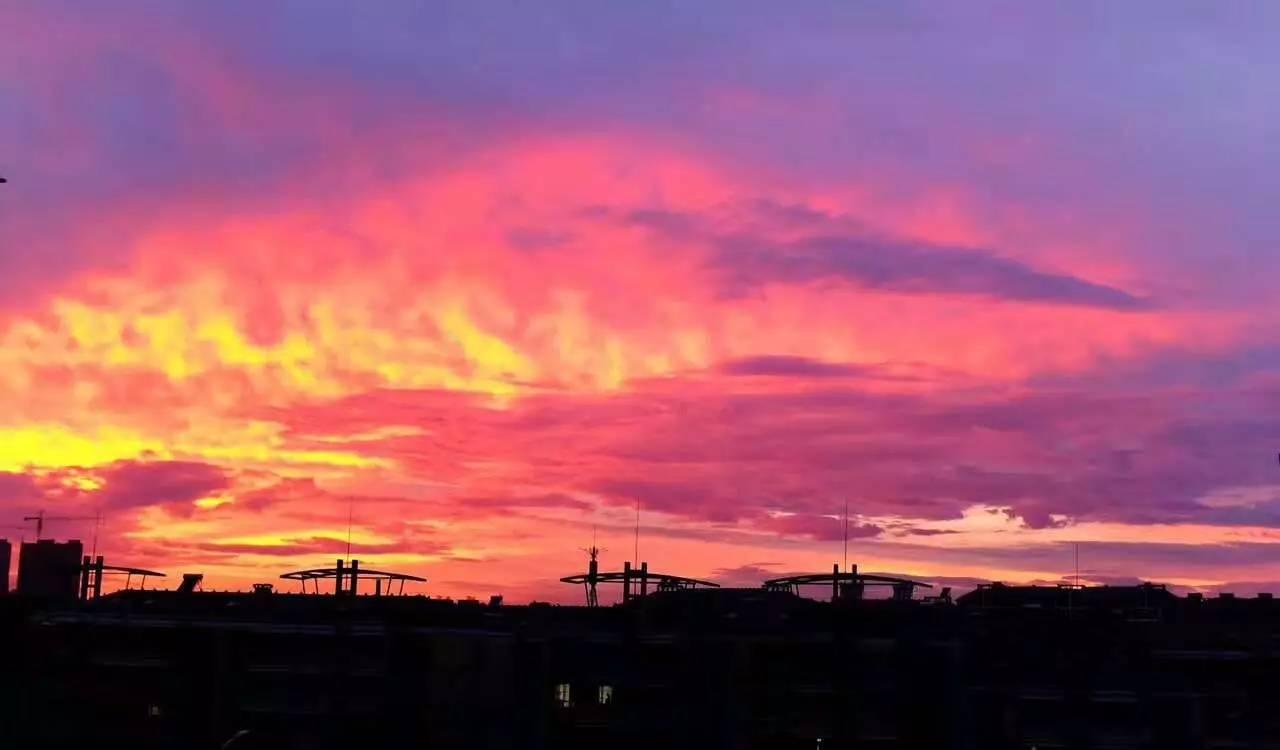hình ảnh bầu trời anime
