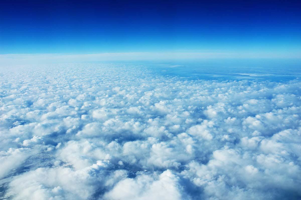 hình ảnh bầu trời cầu vòng