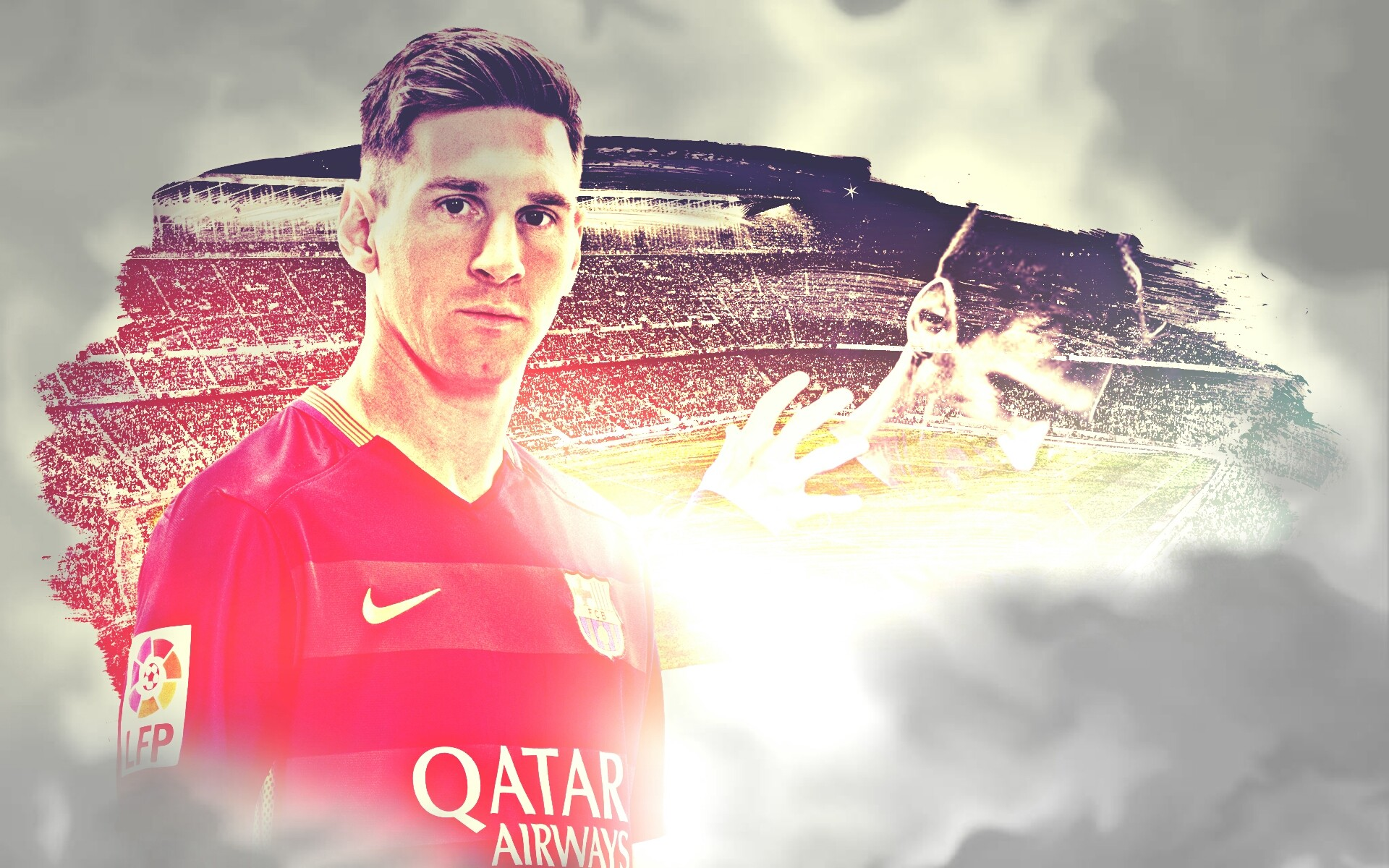 a picture of messi