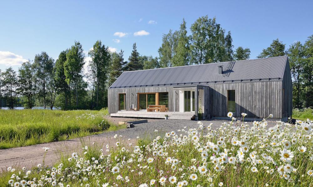 nhà gỗ sân vườn đẹp