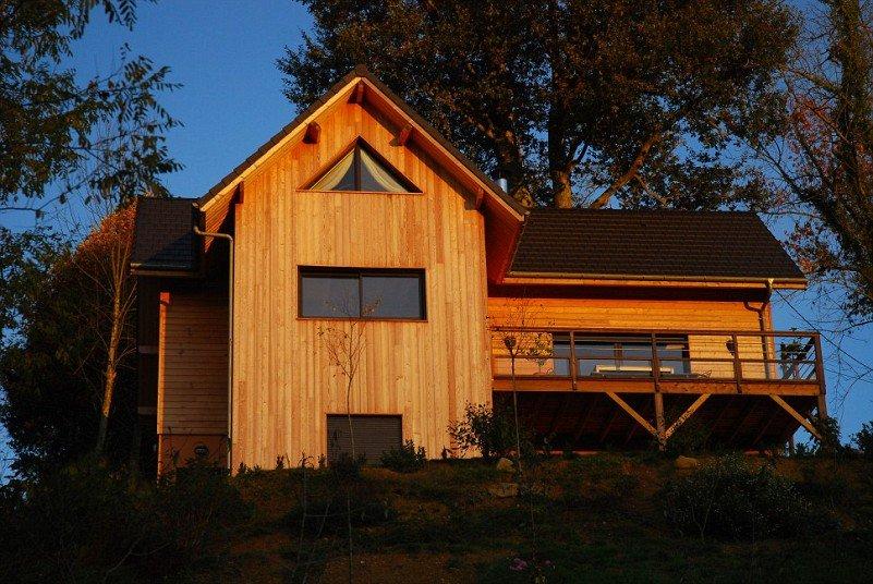 nhà gỗ 4 gian đẹp