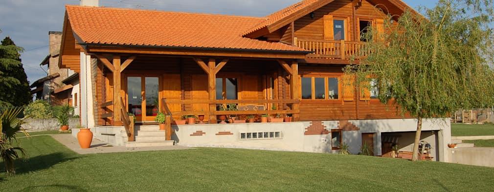 nhà gỗ lục giác đẹp