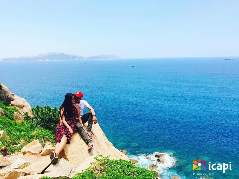 phong cảnh biển nha trang