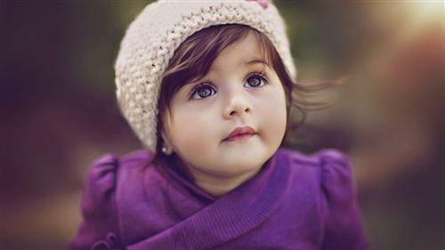 hình bé gái xinh