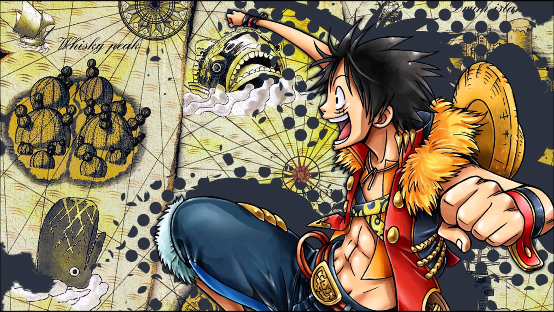 ảnh luffy vs boa