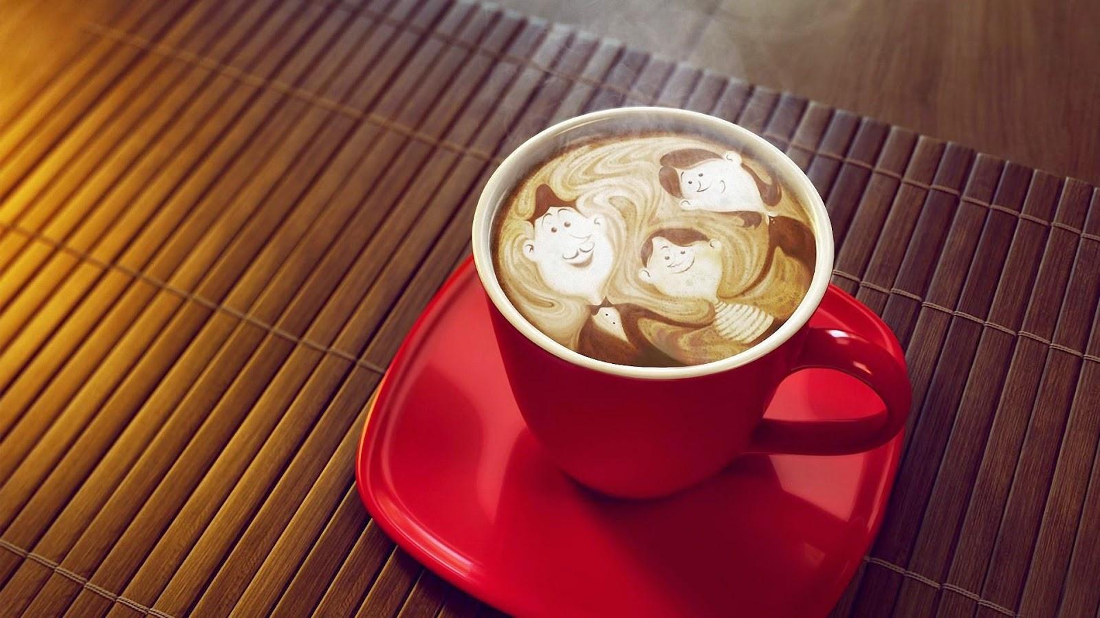 hình ảnh ly cà phê đen