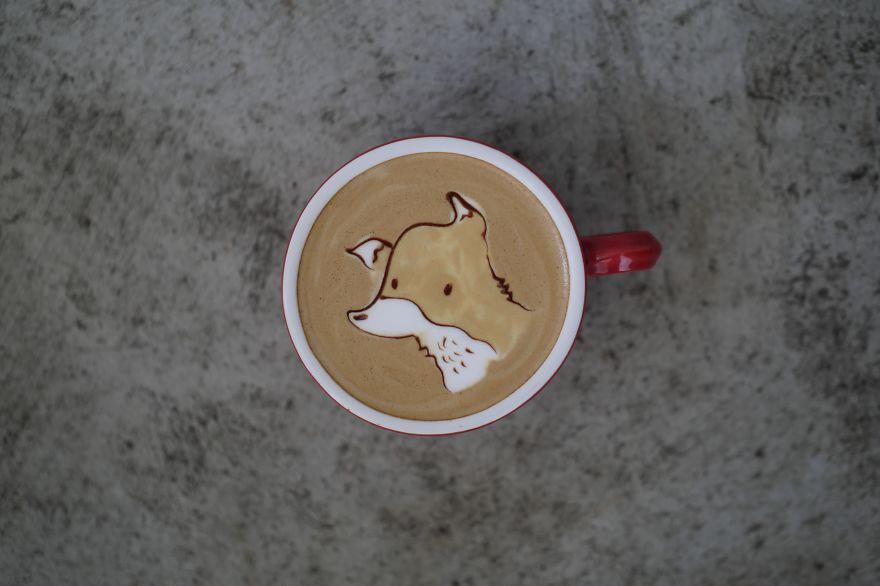 ảnh ly cà phê buổi sáng