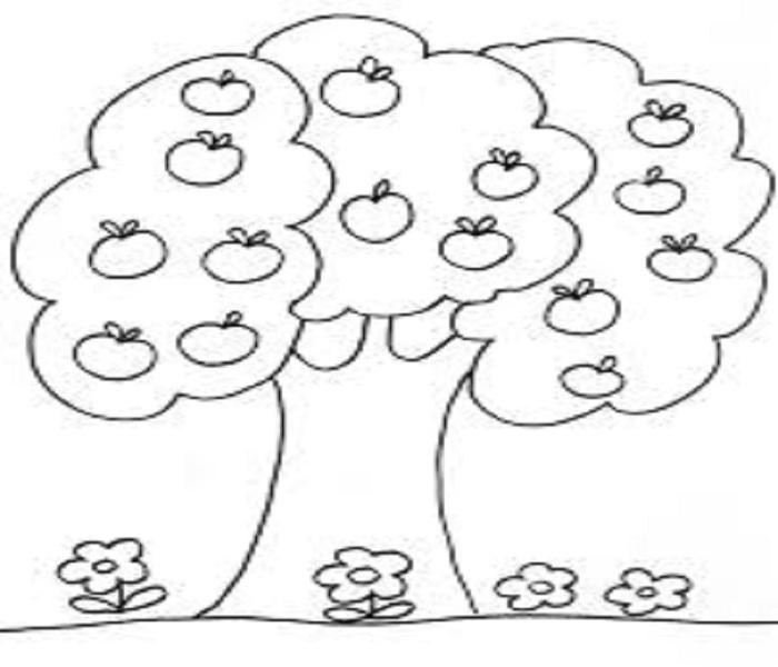 cách vẽ cây cối