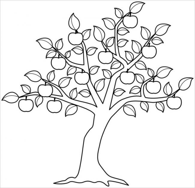 vẽ cây cối