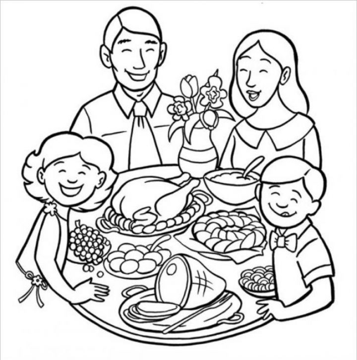 vẽ chân dung người thân trong gia đình