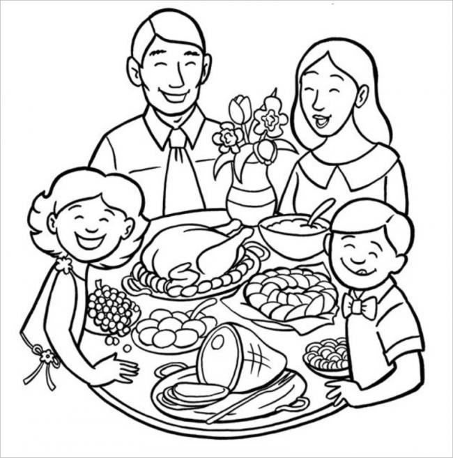 những bức tranh đẹp về gia đình