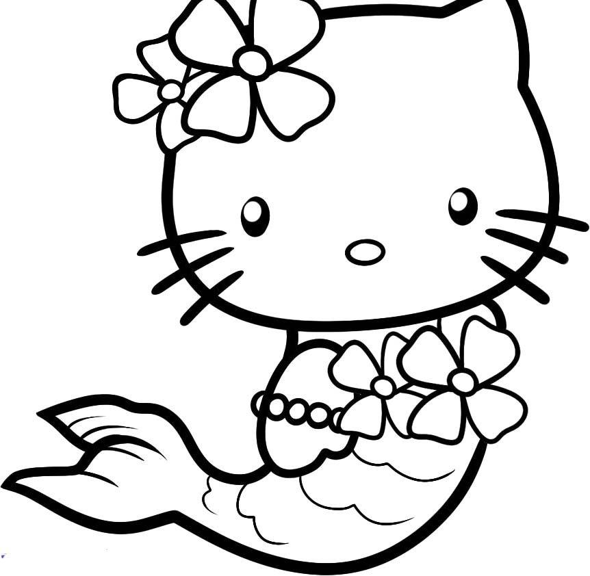 tô màu mèo