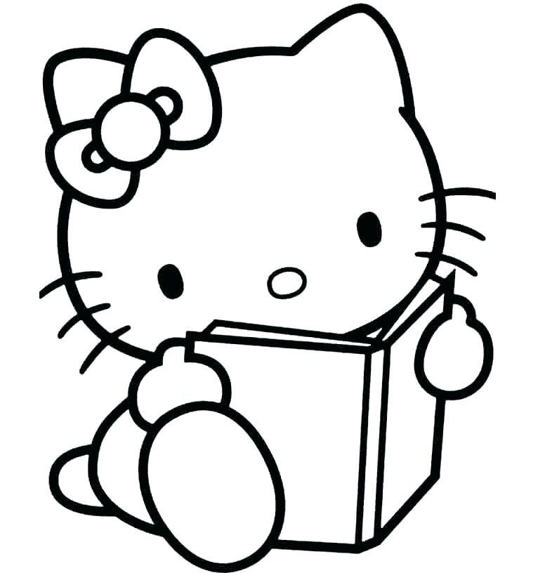 tô màu mèo kitty