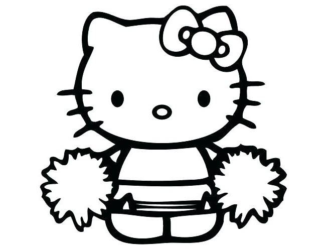 hinh ve kitty